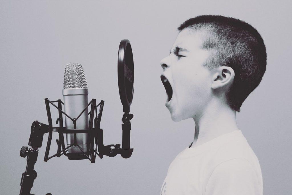 registro de voces y tipos