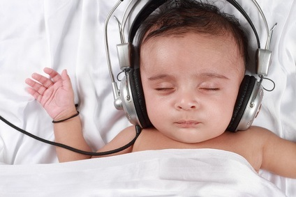 Dormir al ritmo de la música