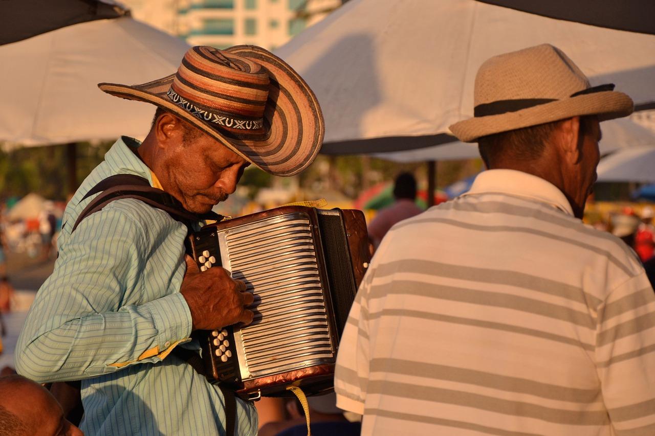 Música vallenata para contar historias